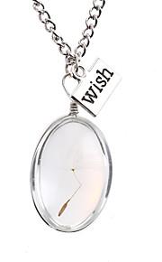 Dámské Náhrdelník umělecké Půvab Stříbrná 30 cm Náhrdelníky Šperky 1ks Pro Denní