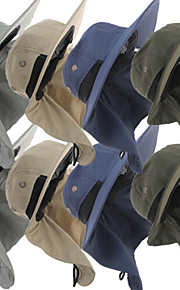 Unisex Základní Sluneční klobouk-Jednobarevné Polyester Léto Námořnická modř Šedá Khaki