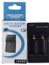 digitala CR123A batteri AC-laddare