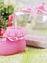 Copilul șosetă lumânare în roz (set de 4)