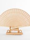 """Lemn de santal Ventilatoare și umbrele de soare-# Piece / Set Ventilatoare de Mână Temă Grădină Temă Clasică Galben8 ¼"""" h x 14 ½"""" w(21cm"""