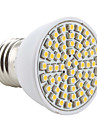 2800lm E26 / E27 LED-spotlights MR16 60 LED-pärlor SMD 3528 Varmvit 220-240V