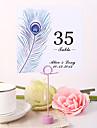 perla cartea de masă numărul de carduri de 10 poli de primire de nunta frumos