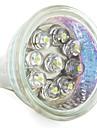 MR11 9-LED vit 30lm 0.8W plats glödlampor (12V)