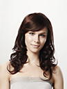 16inch capless long corps bruns boucles 100% cheveux humains 5 couleurs au choix
