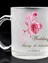 personalizat sticlă mată - tema Rose