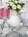 frumoasa lumânare cu bile de trandafir (mai multe culori) favorizează elegant nunta