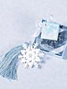 Oțel inoxidabil Favoruri practice Semne de Carte & Cuțite pentru Scrisori Temă Clasică Argintiu / Albastru Panglici / Etichetă