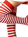 Șosete/ciorapi Feminin Crăciun An Nou Festival/Sărbătoare Costume de Halloween Roșu și alb