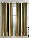 Two Panels Curtain Mediterranean , Stripe Bedroom 65% Rayon/35%Polyester Rayon Material Curtains Drapes Home Decoration For Window