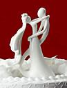 Vârfuri de Tort Temă Clasică Cuplu Clasic Lemn Nuntă Cheful Burlacelor cu Cutie de Cadouri