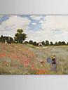 Pictat manual Faimos Peisaj Orizontal pânză Hang-pictate pictură în ulei Pagina de decorare Un Panou