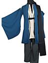 Inspirat de Grandson Nurarihyon lui Kubinashi Anime Costume Cosplay Costume Cosplay Kimono Mată Manșon Lung Geacă Pantaloni Centură