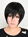 Perruques de Cosplay DuRaRaRa Izaya Orihara Manga Perruques de Cosplay 30 CM Fibre resistante a la chaleur Masculin
