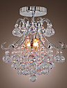 3-Light Montaj Flush Lumină Spot - Cristal, Stil Minimalist, 110-120V / 220-240V Becul nu este inclus / 30-40㎡ / E12 / E14