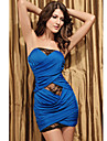 Clubul bandeau rochie din dantela femei (lungime: 68cm bust :86-102 cm talie :58-79 hip :90-104cm)