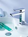 Moderne Set de centre Rotatif Soupape ceramique 1 trou Mitigeur un trou Chrome, Robinet lavabo