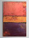 HANDMÅLAD Abstrakt Vertikal Duk Hang målad oljemålning Hem-dekoration En panel