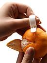 creative dexterous alb plastic de portocale lamaie de portocale (1-pereche)