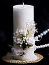 lumanare colorat cu bowknot nunta de nunta coral nunta frumos