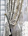 Două Panouri Tratamentul fereastră European Neoclasic Poliester Material perdele, draperii Pagina de decorare For Fereastră