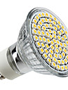4W GU10 LED-spotlights MR16 80 lysdioder SMD 3528 Varmvit 2800lm 2800KK AC 220-240V