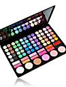 78 Colors Eyeshadow Palette / Powders / Blush Eye Translucent gloss Long Lasting Rosy Daily Makeup / Fairy Makeup 1160 Cosmetic / Matte / Shimmer