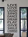 Rire vivant d'amour autocollant de mur