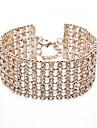 Pentru femei Cristal Manşetă 18K Placat cu Aur Bijuterii Zilnic Casual În aer liber Costum de bijuterii