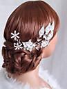 Aliaj Îmbrăcăminte de păr 1 Nuntă / Ocazie specială Diadema
