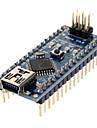 Placă De Bază Nano V3.0 AVR ATmega328 P-20AU Modul; Cablu USB  Pentru Arduino Albastru + Negru