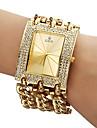 pentru Doamne Ceas La Modă Ceas Brățară Quartz Bandă Sclipici Auriu Auriu Alb