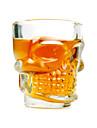 Crystal Sukll Shot Glass (set de 4)