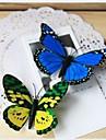 decor nunta 3d aripă dublă fluture artificial (de culoare mixt) -set de 10