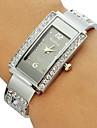 Pentru femei Ceas La Modă Ceas Brățară Quartz imitație de diamant Aliaj Bandă Sclipici Atârnat Argint