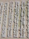 Moule de Cuisson Mold DIY Ustensiles speciaux Lettre Tarte Petit gateau Gateau Plastique Cadeau A Faire Soi-Meme Mariage Haute qualite