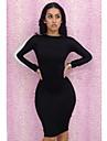 Sexy fara spate spicing Bodycon Mini Dress Femei