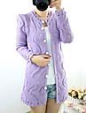Femei cutwork Tricotaje Coat