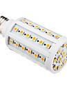 E26/E27 LED-lampa T 60 lysdioder SMD 5050 Varmvit 850-890lm 3000K AC 220-240V