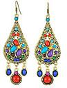Pentru femei Cercei Picătură Festival/Sărbătoare costum de bijuterii Bijuterii Statement European Reșină Aliaj Picătură Bijuterii Pentru