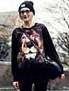 Femeile lui Lion Print Bluza