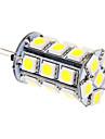 G4 Becuri LED Corn T 24 led-uri SMD 5050 Alb Rece 370lm 5500-6500K DC 12V