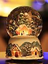ninsoare minge oraș de cer cristal muzică caseta lumina zăpadă rotative lampă