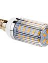 E14 6W 36x5730smd 420lm 2800-3000K lumină albă caldă condus bec de porumb (220V)
