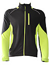 Jaggad Veste de Cyclisme Homme Manches Longues Velo Anorak fleece / Polaires Maillot Veste Hauts/Top Sechage rapide Garder au chaud