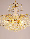 QINGMING® 3-Light Cristal Candelabre Lumină Spot - Cristal, 110-120V / 220-240V Bec Inclus / G9 / 10-15㎡