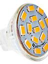 SENCART 5W 450-500lm G4 Spoturi LED MR11 15 LED-uri de margele SMD 5730 Alb Cald / Alb Rece 24V