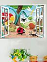 Animale Insecte familie Nursery copii Cameră Wall autocolant
