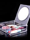 Makeupværktøj Kosmetik-Opbevaring Makeup 1 pcs Akryl Kvadrat Daglig Kosmetiske Plejemidler