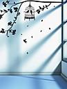 Animaux Floral Stickers muraux Autocollants avion Autocollants muraux décoratifs, Vinyle Décoration d'intérieur Calque Mural Mur